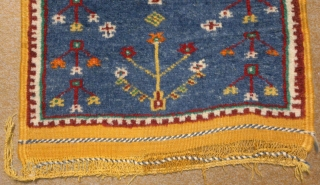 Moroccan rug, mid 20th century no: 208, size: 95*57cm, Tree of Life design, wool and wool.