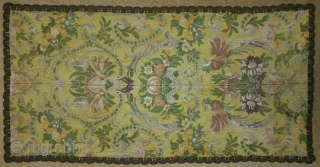Antique Textile, no: 155, size: 77*40cm, 19th century, silk and metal.