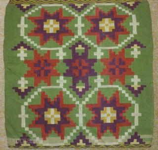 Antique Swedish Kilim(Rolakan technique), no: 220, size: 116*40cm, 19th century, wool on cotton.