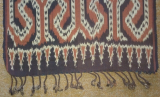 Antique traditional Ikat cotton, indonesia , no: 170, size: 180*44cm.