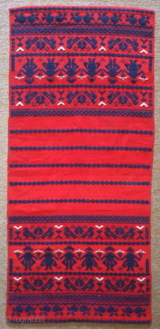 Antique Norwegian or Swedish Apron, no: 178, size: 81*38cm, lovely design.