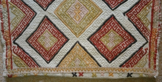 Antique Anatolian kilim Juval(Jual), no: 153, size: 86*49cm, wool and cotton on cotton.
