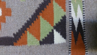 Antique Swedish Kilim, no: 255, size: 53*58cm, wool on cotton.