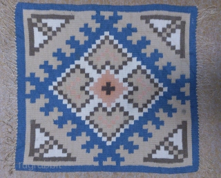Antique Swedish Kilim, no: 259, size: 52*49cm, wool on cotton.