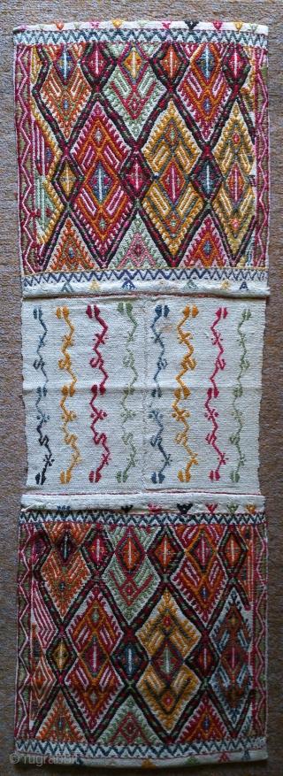 Anatolian saddlebag, no: 144 size: 122*41cm.