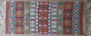 Antique Swedish Kilim, no: 311, size: 82*36cm.