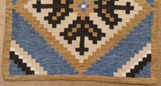 Antique cushion Swedish kilim, no: 269, size: 52*52cm.