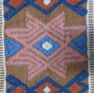 Antique Swedish Kilim, no: 266, size: 103*37cm.