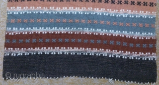Antique Swedish Kilim, no: 276, size: 112*47cm.