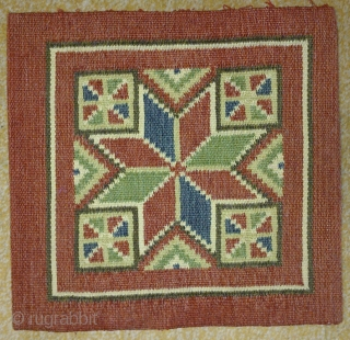 Antique cushion Swedish kilim, no: 209, size: 31*30cm.
