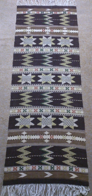 Antique Swedish Kilim, no: 330, size: 144*52cm, wall hangings.