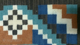 Antique Swedish Kilim, no: 340, size: 48*49cm.