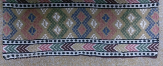 Antique Swedish Kilim, no: 304, size: 114*46cm, wall hangings.
