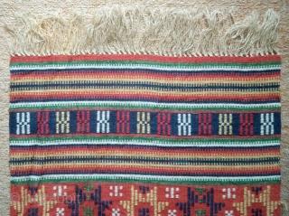Antique Swedish Kilim, no: 348, size: 153*48cm.