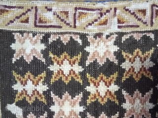 Antique Swedish cross stitch silk and wool on linen, no: 364, size: 47*29cm.