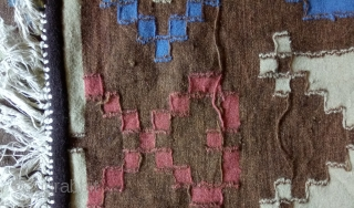 Antique Swedish kilim(Rolakan technique), no: 376, size: 109*44cm, wall hangings.