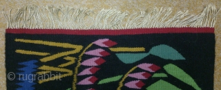 Antique Swedish kilim, no: 232, size: 63*49cm, conceptual design, is the wall hangings.