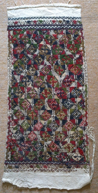 Antique Anatolian Juval(Jual) Face, no: 142, size: 104*47cm, wool and cotton on cotton.
