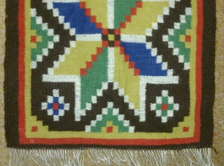 Antique Swedish kilim(Rolakan technique), no: 221, size: 83*28cm, wall hangings.