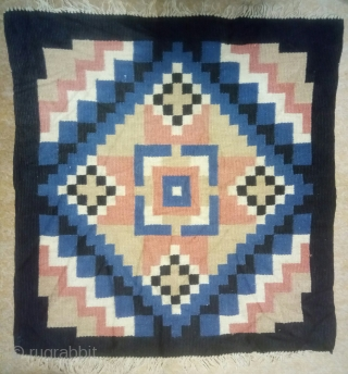 Swedish kilim, no: 420, size: 60*56cm.