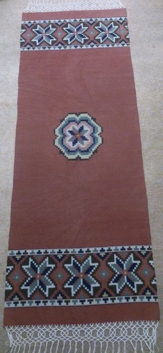 Antique Swedish kilim(Rolakan technique), no: 336, size: 164*60cm, wall hangings.