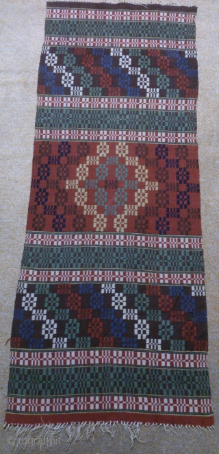 Antique Swedish kilim, no: 306, size: 140*54cm, wall hangings.