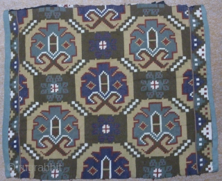 Antique Swedish kilim(Rolakan technique), no: 344, size: 72*60cm, wall hangings.