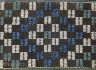 Antique Swedish kilim, no: 307, size: 167*59cm, wall hangings.