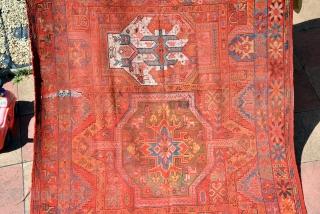 Moroccan rug, (Rabat) 19th century, size is 370 x 182 cm