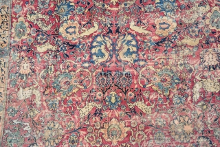 Antique Persian Rug, I think Khorassan? 
