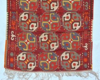 Uzbek Lakai circa 1920 11 pieces 372 x 142 cm very good condition