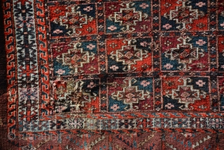 Exceptional Yomut Rug