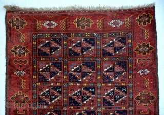 Exceptional Bashir rug with animal patterns on both side borders