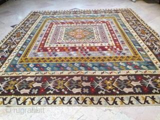 osmanlı kilim makadanon bosna weaving age 120 caliber 310/410 saglam
