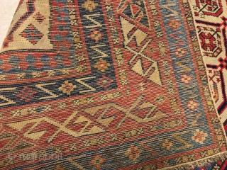 caucasus  daghestan  prayer  rug  cm 1.52 x 0,87  1880  circa good  condition  fine quality