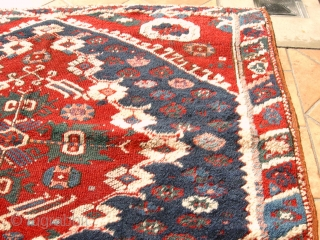 ANTIQUE  ANATOLIAN KIZ BERGAMA  CM  1.06 X 0,86