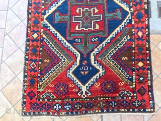 antique east anatolian GAZIANTEP cm 3.05 x 092  good  condition