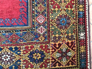 Antique  anatolian mucur  prayer rug. . cm 1.70 x 1.33 19th century. good  condition  original  size