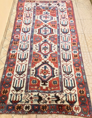 ANATOLIAN  SIVAS  ANTIQUE CM 2.32 X 1.18   1830/50  CIRCA   SIVAS carpet perfect state of preservation from the Italian private collection I am very happy to have  ...