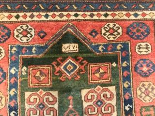 CAUCASUS  KAZAK FACRALU  CM 1.30 X 0.80  19TH CENTURY