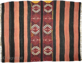 # 811 Kurdish cuval, 103/153 cm (unsewn), Malatya area, Southeast Anatolia, ca. 1900, very good condition, cf. Landreau, No. 21! For more offers of wonderful collector's pieces please visit our website:  www.oriental-textile-art.de  ...