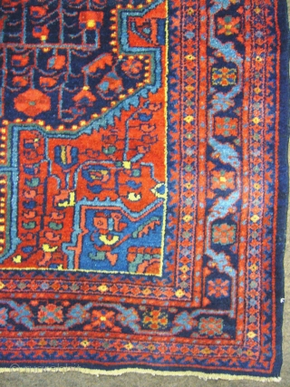 # 519 Rare Nahavand village rug, West Persia, 143/202 cm, ca. 1930, very good condition, full pile, only one small stain. For more offers of wonderful collector's pieces please visit our website:   ...