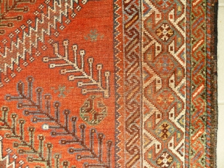 # 663 Luri Main Carpet, 162/314 cm, Southwest Persia, late 19th century, best natural dyes only, fair pile, washed and ready for display.  For more offers of wonderful collector's pieces please visit  ...