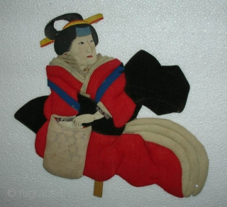 Oshie Doll, Japan, Meiji (circa 1880), cm 21x19. The doll making has been elevated to art form in Japan, and Oshie dolls were extremely popular items among wealthy classes along the whole  ...