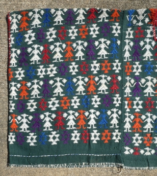 Beautiful vintage huipil from either Tactic or San Pedro Carcha, Alta Verapaz, Guatemala. From a the collection of a well-known museum. Collector also known. All provenance will be given to the buyer  ...