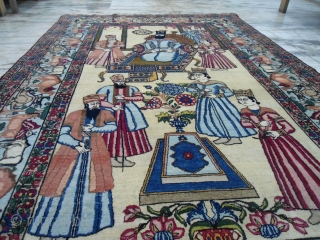 Early 20th Century Kerman rug