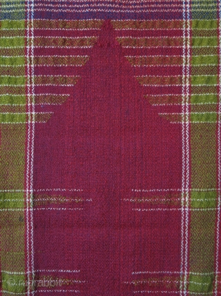 "South East Anatolia wool Kuridsh prayer mat. Circa 1930s. Size :51"" X 28"" - 130 cm x 70 cm"
