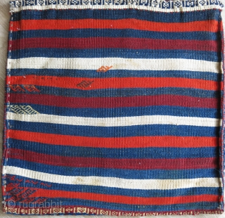 """Qashkai pile bag. woven to last forever, heavy structure and thick pile with good colors, size: 21"""" X 21"""" -- 53 cm X 53 cm"""