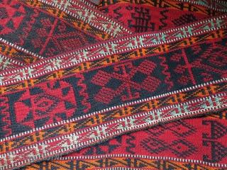 "Eastern Turkey Sivas wide ceremonial band in good condition. Circa 1900 - size : 122"" X 6,5"" -- 310 cm X 16 cm"