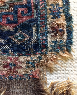 Shahsavan Kurdish bag very old size 28x28cm